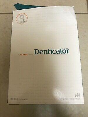 DENTICATOR DISPOSABLE PROPHY ANGLES tapered brush BX/130 501314 latex free
