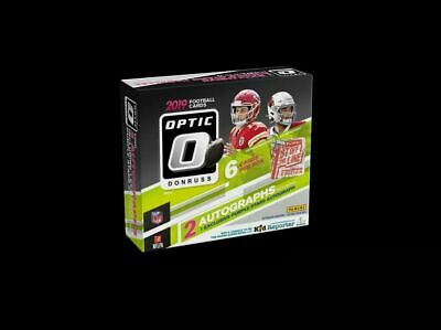 2019 Panini Donruss First Off The Line (FOTL) OPTIC NFL Football Hobby Box NEW