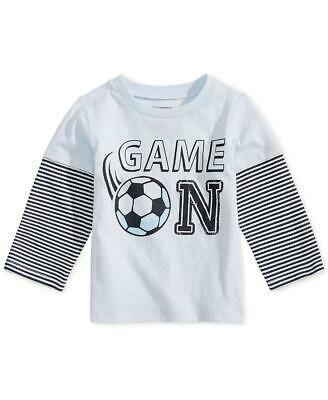 First Impressions Baby Girl Poodles Print Long Sleeve T-Shirt Top MSRP $13 NWT