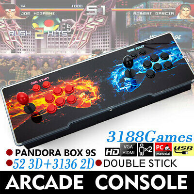 Pandoras Box 12s 3188 In 1 Video Games Arcade Console Support 2 Players Fighting