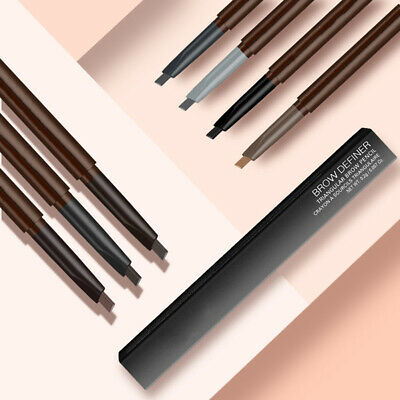 LN_ DNM Waterproof Double Head Automatic Eyebrow Enhancer Pencil Paint Makeup