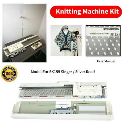 For Singer Industry Bulky 155 Chunky Knitting Machine Heavy Weight Yarns Home
