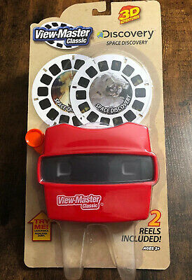 Classic Viewfinder Reel Viewer 3D Adventures Discovery Box Set with Animal World Reel