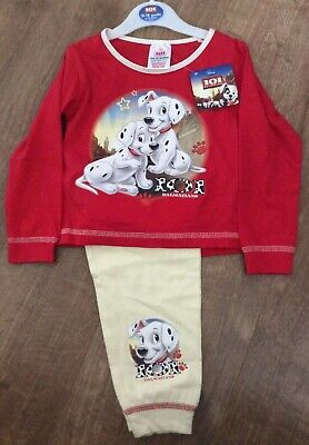 Disney 101 Dalmatians Pyjamas Age 12-18 Months / 86Cm New With Tags