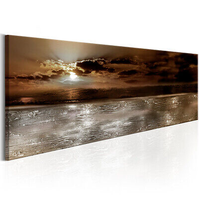 Sunset Sunrise Nature Ocean Print Pictures Canvas Wall Art Prints Paint