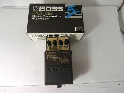 Boss PQ-3B Bass Parametric Equalizer Effects Pedal EQ Free USA Shipping