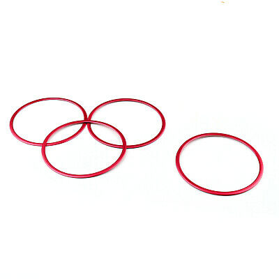 Car Door Inner Speaker Trim Cover Ring Red For BMW X5 F15 2014-2015 X6 F16 2015
