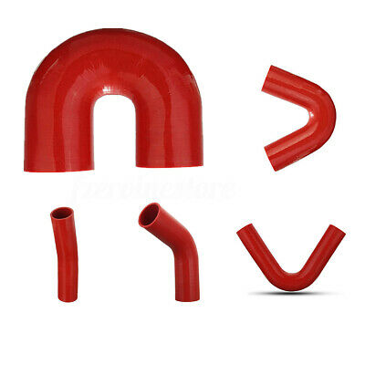 4mm ID Red 500mm Silicone Vacuum Hose AutoSiliconeHoses