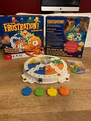 Original Frustration Slam-Tastic Chasing Family Board Game Hasbro 2011 Complete