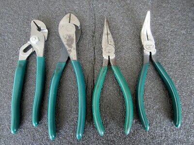 """A893B CUSHION GRIP NO LOT OF 5 CTA 5-1//4/"""" LONG NOSE PLIERS SPRING LOADED"""