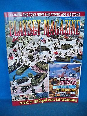 Playset Magazine #107-Archer War of the Worlds,Men of Mars,Space People more