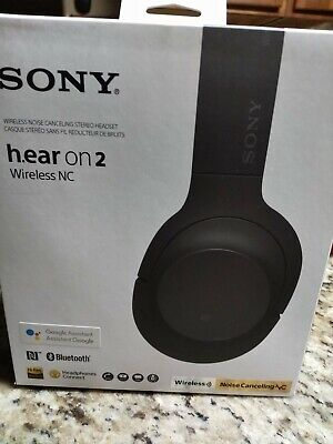 Sony WH-H900N/BM h.ear hear on 2 Bluetooth Wireless Noise Canceling Stereo