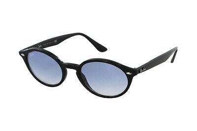 NWT Ray Ban 0RB 4315 601/19 BLACK/Blue Gradient Sunglasses Made In Italy
