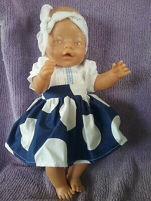 """17""""Zaph Baby Born and Interactive Sister Handmade doll clothes"""