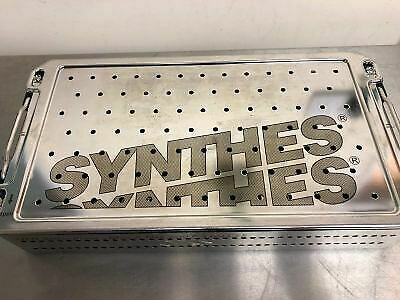 Synthes Case UFN Spiral Blade + Miss-A-Nail 7.3mm CSS 685.270