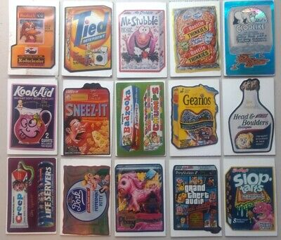 2005 Topps Wacky Packages Special Ed #2 Set Signed by Jay Lynch