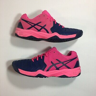NEW ASICS C700Y Gel Resolution 7 Athletic Tennis Shoes Pink