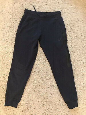 Girls Nike Tech Fleece Bottoms Blue L 12-13 Years