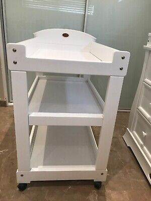 REDUCED!! Boori change table white never used already assembled