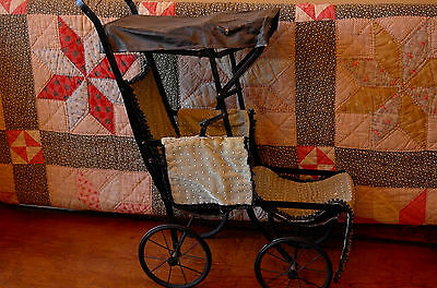 Antique Doll Buggy  Carriage
