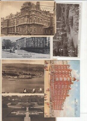 Postcards - Pubs and Hotels, UK x 6