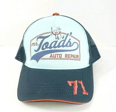 Disney Parks Mr. Toad's Auto Repair Adult Baseball Cap Hat
