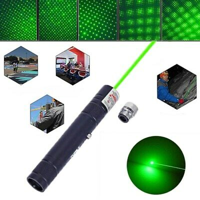 500Miles Star Beam Light Green Laser Pointer Pen 532nm AA Presentation Lazer Pen