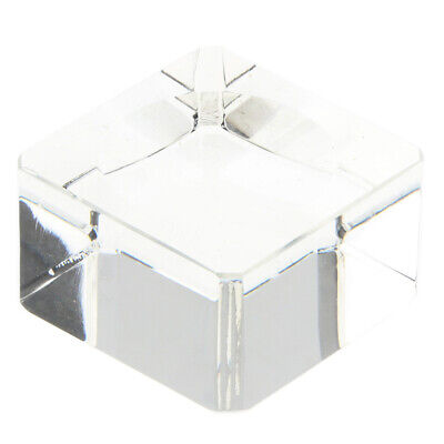 Square Dimple Crystal Display Base For 70-80mm Crystal Ball Sphere Art Decors