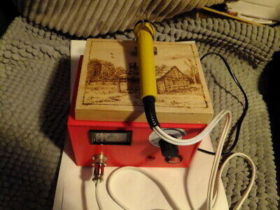 Pyrography (woodburning)  machine with extras. as new