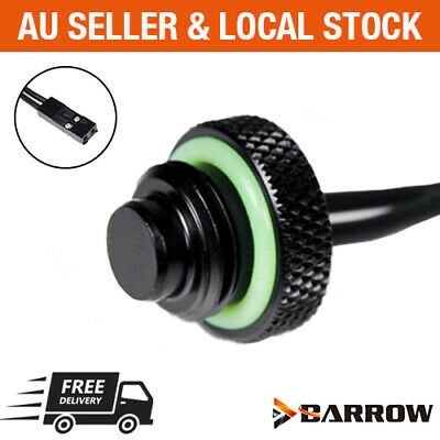 Barrow Water Cooling G1/4 10K Temperature Sensor Stop Plug Fitting 2 Pin plug
