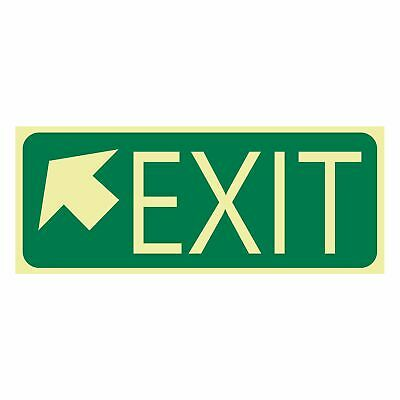 Exit and Evacuation Signs -  EXIT SIGN - EXIT ARROW TOP LEFT