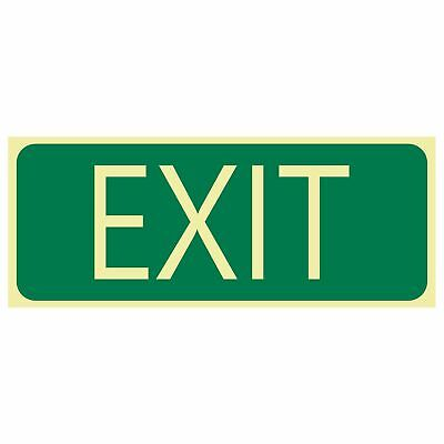 Exit and Evacuation Signs -  EXIT SIGN - EXIT