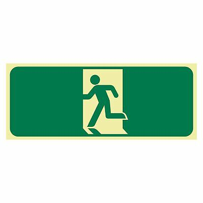 Exit and Evacuation Signs -  EXIT SIGN - RUNNING MAN