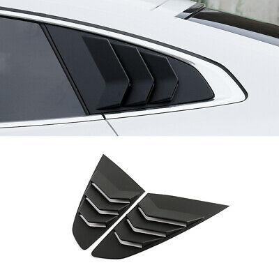 Wing Style C Pillar Sports Plate Mask Molding For Honda Civic 2016~2017+