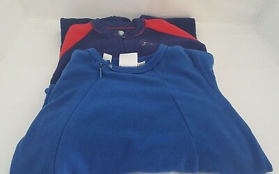 Two Pairs of Toddler Boys Sleeper Pajamas Size 2t
