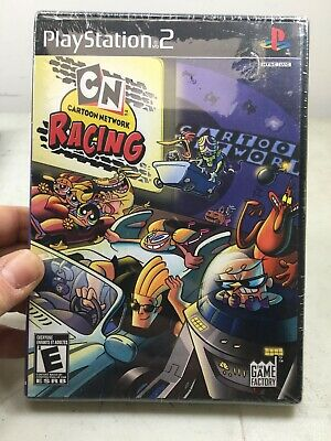Sony PlayStation 2 PS2 CN Cartoon Network Racing ... NEW and never opened