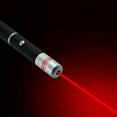 100Miles Beam Light AAA Powered Red Laser Pointer Pen 650nm Visible Torch Lazer