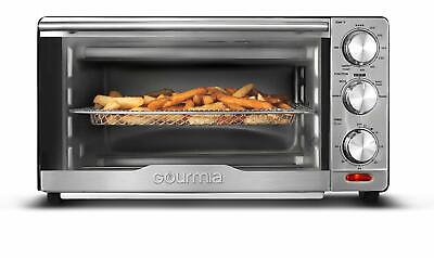 Gourmia GTF7350 6-in-1 Multi-function Stainless Steel Air Fryer Oven 6 Functions