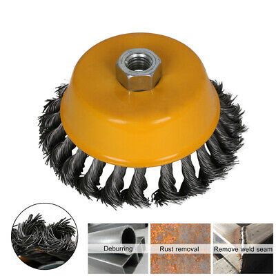 OD80 0.3MM stainless steel Wire Brush Grinding Wheel Metal Paint Rust Removal
