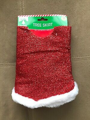 18 In - 1//pkg by Christmas House Christmas House Value Tinsel Tree Skirt