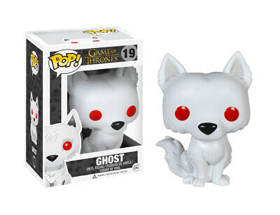 Funko Pop! Game of Thrones Jon Snow Dire Wolf GHOST 19 New in Box