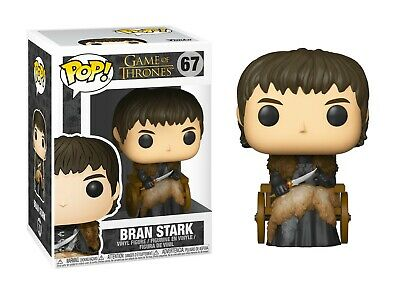 Funko Pop! Game of Thrones BRAN STARK 67 Wheelchair New in Box