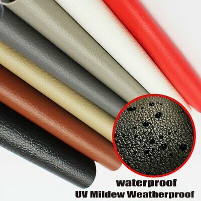 Upholstery Faux Leather Fabric Auto Marine Lounge Bar Patch Vinyl Repair Restore