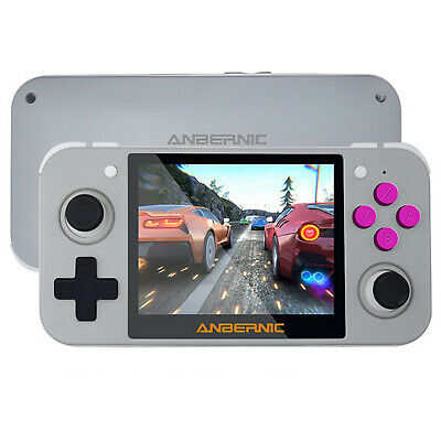 RG350 Linux System Handheld Retro Video Game Console Mini IPS Screen Replacement