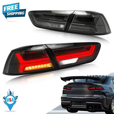 New Vland Set Of 2 LED Tail Light Rear LH RH For Mitsubishi Lancer 2008-2017