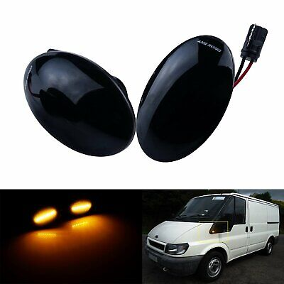 For Ford Transit Tourneo MK6 MK7 Mondeo Fiesta LED Side Repeater Indicator Light