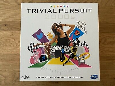 Trivial Pursuit 2000s UK Edition Board Game 16yrs+ 2-6 Players