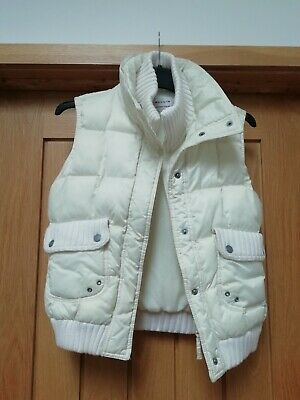Girls Next Cream Padded Gilet Age 11-12 Years