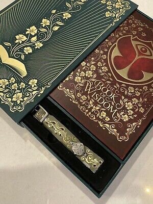 TOMORROWLAND 2019 OFFICIAL Bracelet & TREASURE CASE BOOK OF WISDOM - ENGLISH