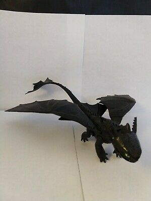 Defenders of Berk How to train your Dragon wild black tail toothless figure RARE